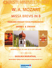 Mozart Missa in Bb